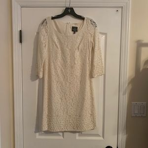 Size 2 white lace Adrianna Papell dress